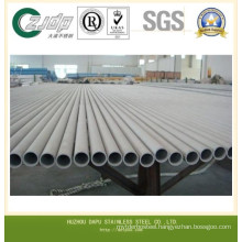 ASTM Tp 304 304L Beveled Seamless Stainless Steel Pipe