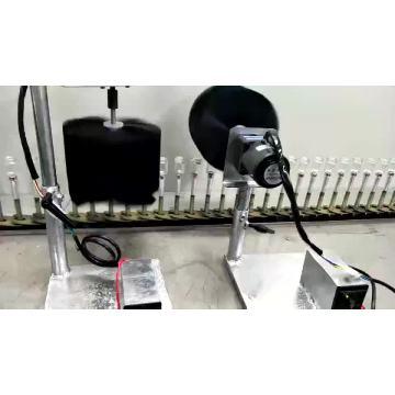 Automatic uv spray painting system