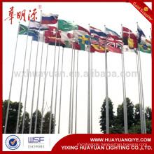 Hot sale galvanized steel flag pole