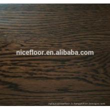 Sol en bois de chêne en trois couches Plancher multicouches en bois multicouches