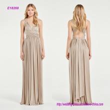 Espumoso Multi-Way A-Line vestido de dama de honor