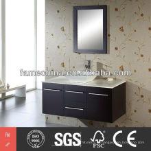 Armário de vaso sanitário moderno Armazenamento de gabinete com banheiro quente