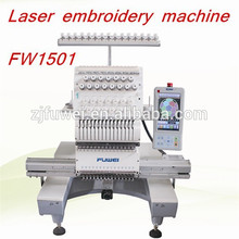 FUWEI Single head cap and t-shirt embroidery machine one head