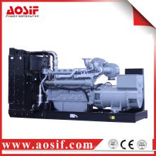 Generador de 640KW / 800KVA 50hz con el motor de perkins 4006-23TAG3A hecho en Reino Unido