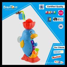 Plástico, plástico, golfinho, brinquedos, bebê, banho