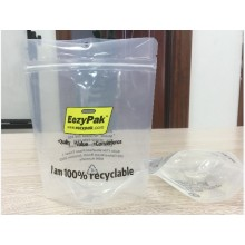 Recyclaable Food Bag Resealable Stand Up Plastic Bags
