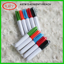 Mini Permanent Fabric Pen with Metal Ring