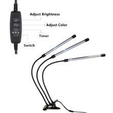 Luminaire de culture LED à pince le plus chaud 30W