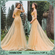 High class dresses evening gowns long dress wedding party frock design for ladies