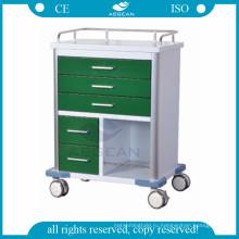 Для рабочего места медсестры с различным размером ящиками мобильных медиальной корзину