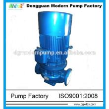 Pompe montée sur pipeline série ISG, pompes pour tuyauterie, pompe pour pipeline