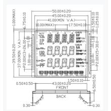 Arkled customized 50*39.5 FSTN LCD Display