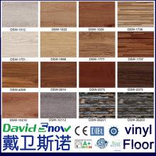 Anti Rutsch Holz aussehen Luxus Klick PVC Vinyl Bodenbelag