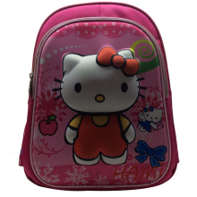 2014 nueva imagen popular de la mochila escolar