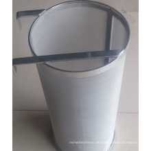 Lebensmittelqualität 304 Edelstahl 400 300 Mikron Hop Filter Spider Korb Sieb