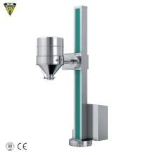 pharma fixed clamping lifting charging ibc bin hopper lifter machine