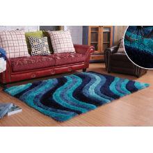 Wohnzimmer Büro Bunte handgefertigte Teppich Teppich und Teppich