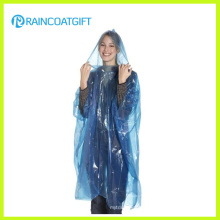 Cheap Disposable PE Raincoat Poncho Rbc-160