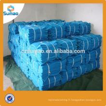 Haut niveau de fabrication hdpe avertissement clôture plastique filet de sécurité