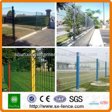 Сварные сетчатые заборные панели (производитель)