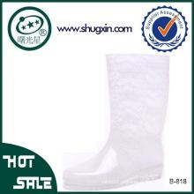 резиновая пластичная водостойкая обувь ПВХ дождь сапоги