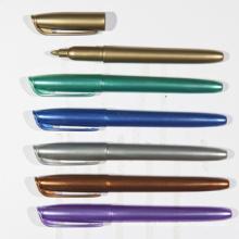 O melhor ouro da venda e marcador permanente do ponto fino metálico de prata (XL-5014)