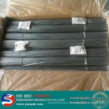 Hilo de corte recto / alambre de hierro galvanizado