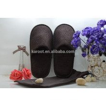 cheap soft personalized close toe hotel slipper