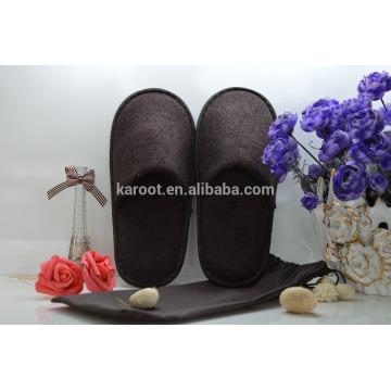 cheap soft personalized close toe hotel slipper