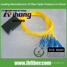 PLC SC UPC 1 * 16 fibre optique diviseur