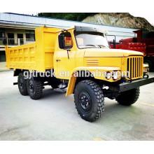 Camión militar de Dongfeng / camión del camino / 6 * 6 Dongfeng camión de carga militar / camión de arena militar / camión militar del volquete