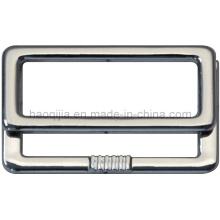 Fivela de liga de zinco quadrado para vestuário -19752-3