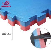 EVA foam interlocking Tatami two colors jigsaw floor eva anti-slip mat