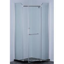 Armoire de douche à angle triangulaire
