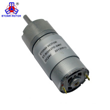 37mm Dia Permanent Magnetic Planet Gear Box Motor 150 RPM DC 24V