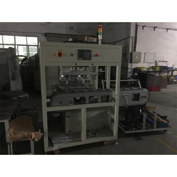 Automatic 4 Color Shuttle Tank Belt Pad Printing Equipment
