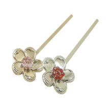 Fashion Jewelry Metal Hairpin for Lady with Rhinestones
