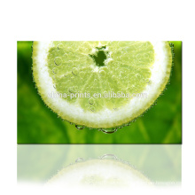 Fresh Lemon Canvas Printing/Fruit Photo Digital Print on Canvas/Wall Art For Living Room