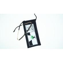 bolsa de óculos de microfibra de impressão de transferência quente