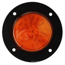 DOT одобрил 2,5 дюймовый желтый свет круглый Распродажа маркер водонепроницаемый, высокая яркая, гарантия 2 года