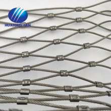 SUS304 wire rope netting rope wire mesh stainless steel animals safety netting protecting mesh