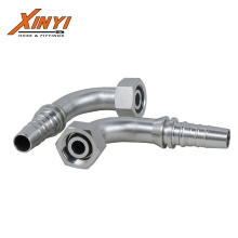 Top sponsor listing hydraulic hose fittings connector  Hot Sale Eaton 90 Degree Metric Swivel Female 74 Degree Cone S