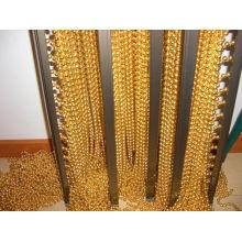 Cuentas de cadena de metal String Beautiful Divider Cortina