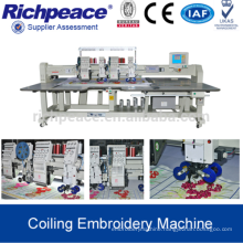 High Quality Multi-head Computer Control Coiling Embroidery Machine