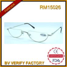 RM15026 Half Frame nuevo diseño moda gafas de lectura