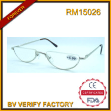 RM15026 Half Frame New Design Trendy Reading Glasses