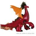 Festival Decoração Fábrica Chinesa Impresso Dos Desenhos Animados de Vinil Dragão De Brinquedo De Plástico