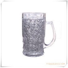 Taza escarchada de la pared doble Taza de cerveza congelada del hielo para los regalos promocionales (HA09071-2)