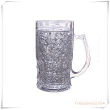 Caneca Frosty da parede dobro Caneca de cerveja congelada do gelo para presentes relativos à promoção (HA09071-2)