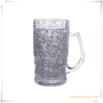 Double Wall Frosty Mug Frozen Ice Beer Mug for Promotional Gifts (HA09071-2)